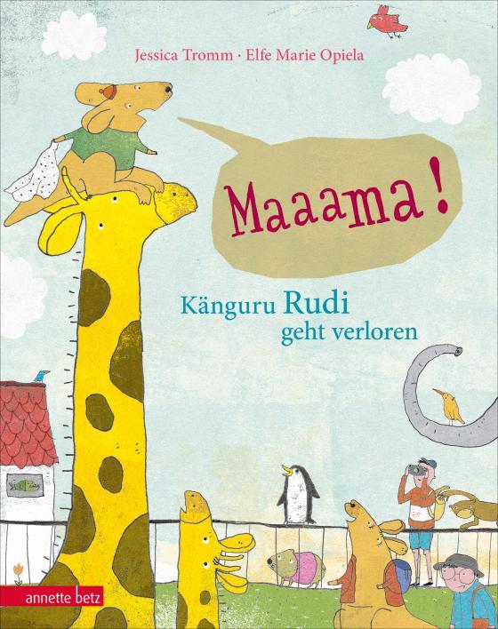 Cover-Bild Mama! - Känguru Rudi geht verloren