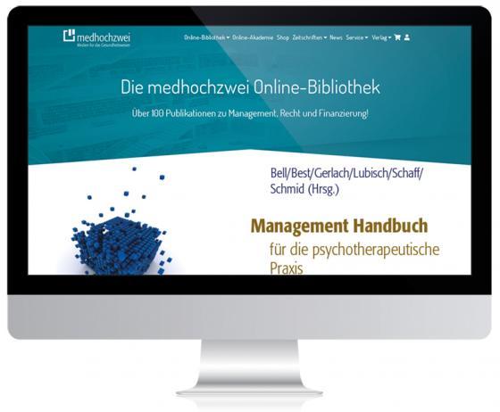 Cover-Bild Management Handbuch für die psychotherapeutische Praxis