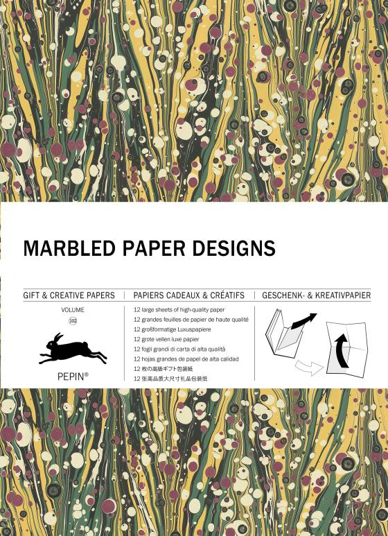 Cover-Bild Marbled Paper Designs