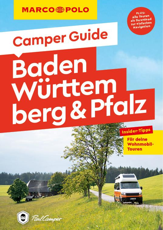 Cover-Bild MARCO POLO Camper Guide Baden-Württemberg & Pfalz