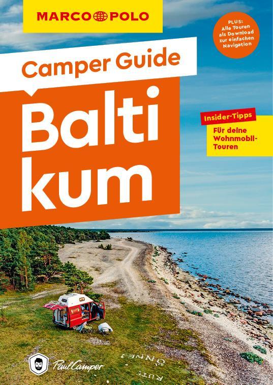 Cover-Bild MARCO POLO Camper Guide Baltikum