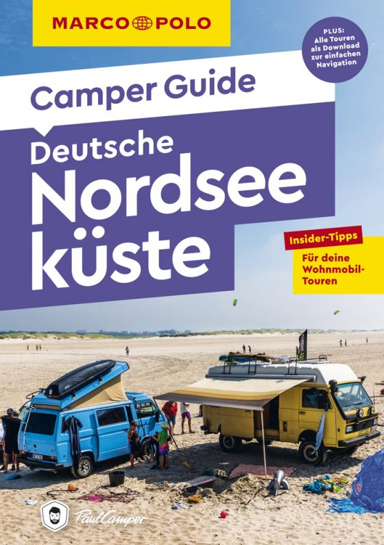 Cover-Bild MARCO POLO Camper Guide Deutsche Nordseeküste