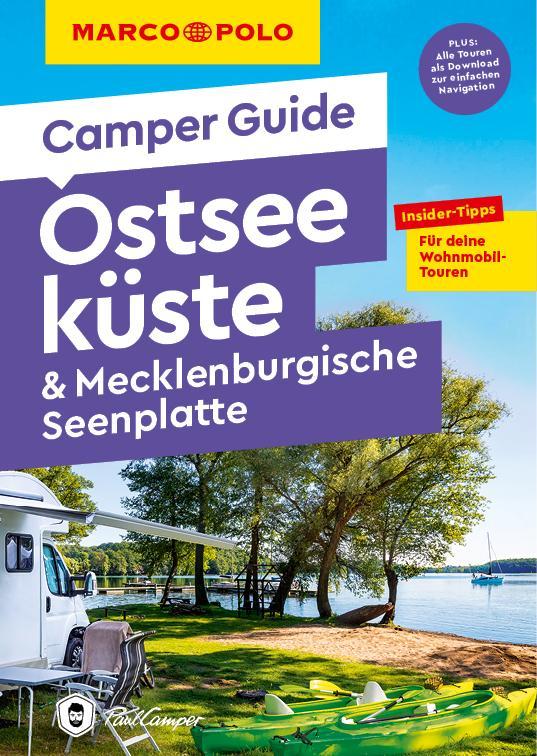 Cover-Bild MARCO POLO Camper Guide Ostseeküste & Mecklenburgische Seenplatte