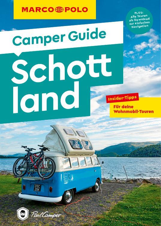 Cover-Bild MARCO POLO Camper Guide Schottland