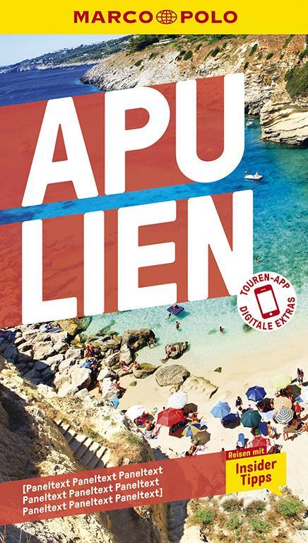 Cover-Bild MARCO POLO Reiseführer Apulien