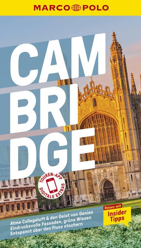 Cover-Bild MARCO POLO Reiseführer Cambridge