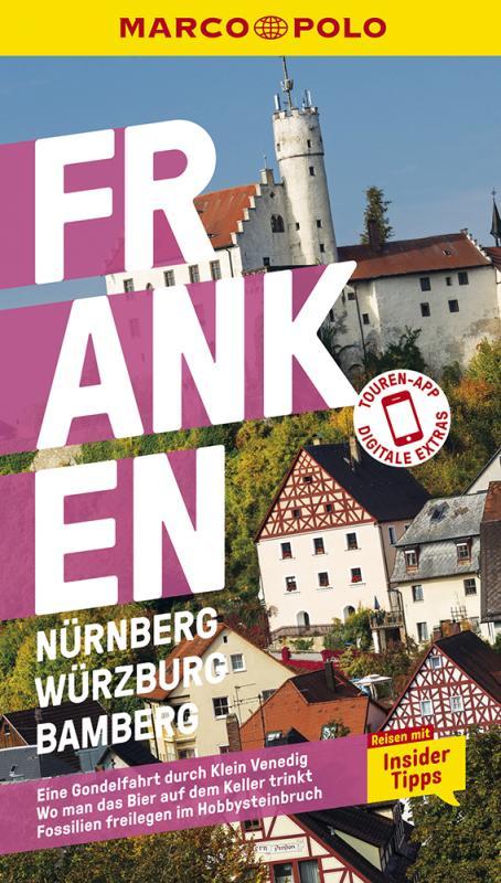 Cover-Bild MARCO POLO Reiseführer Franken, Nürnberg, Würzburg, Bamberg