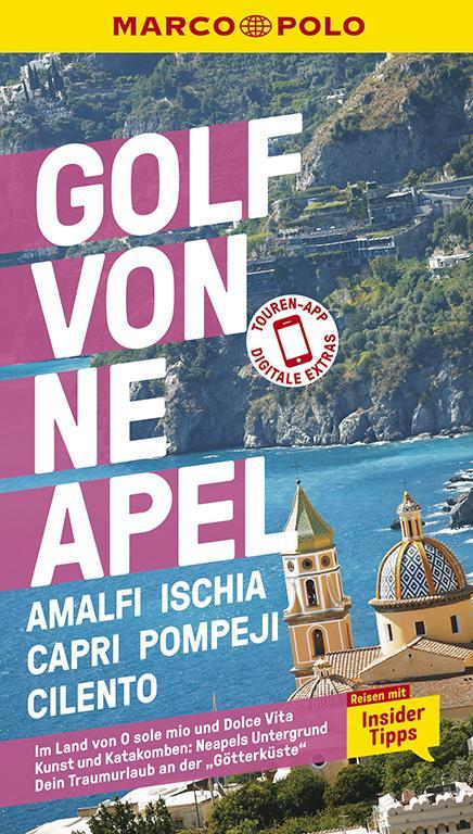Cover-Bild MARCO POLO Reiseführer Golf von Neapel, Amalfi, Ischia, Capri, Pompeji, Cilento