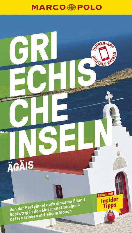 Cover-Bild MARCO POLO Reiseführer Griechische Inseln, Ägais