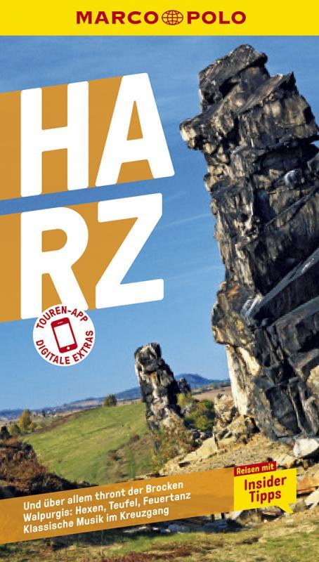 Cover-Bild MARCO POLO Reiseführer Harz