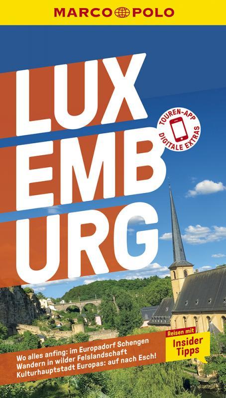 Cover-Bild MARCO POLO Reiseführer Luxemburg