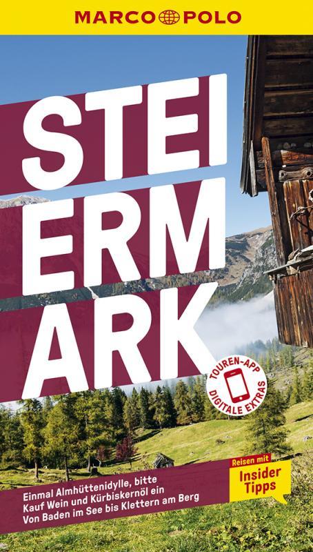 Cover-Bild MARCO POLO Reiseführer Steiermark