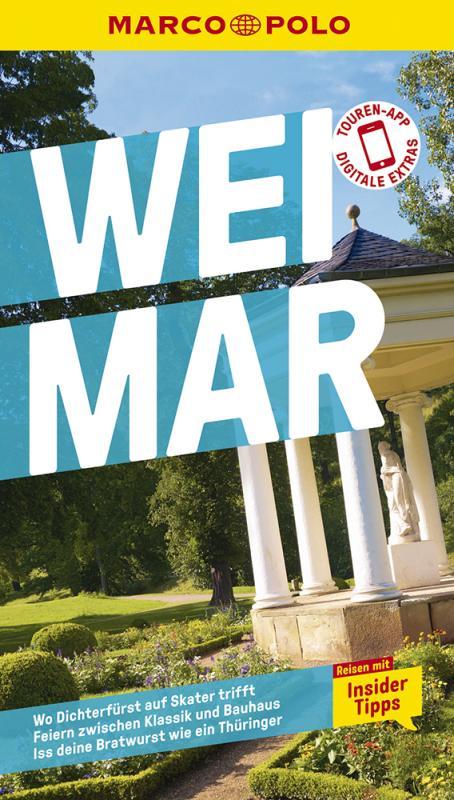 Cover-Bild MARCO POLO Reiseführer Weimar mit Umgebung