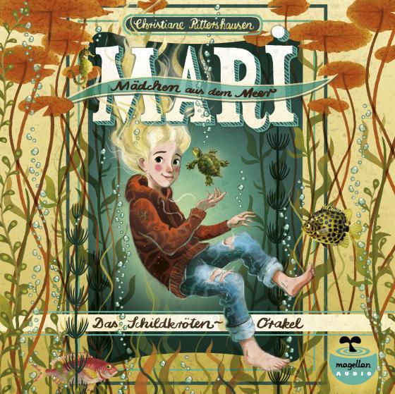 Cover-Bild Mari - Mädchen aus dem Meer - Das Schildkröten-Orakel (mp3-CD)