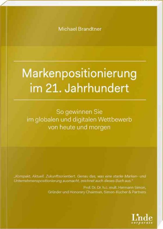 Cover-Bild Markenpositionierung im 21. Jahrhundert