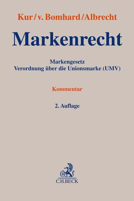 Cover-Bild Markenrecht