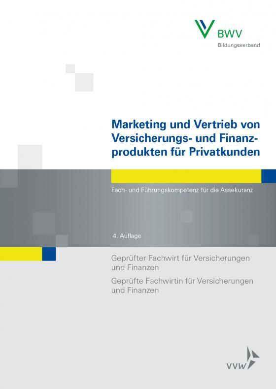 Cover-Bild Marketing und Vertrieb von Versicherungs- und Finanzprodukten für Privatkunden