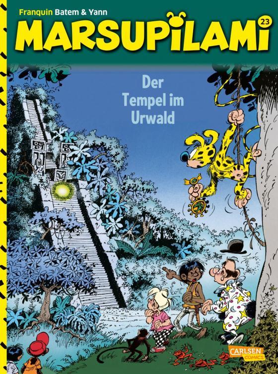 Cover-Bild Marsupilami 23: Der Tempel im Urwald