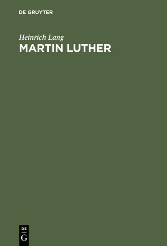 Cover-Bild Martin Luther