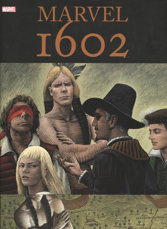 Cover-Bild Marvel 1602 Deluxe