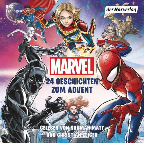 Cover-Bild MARVEL - 24 Geschichten zum Advent