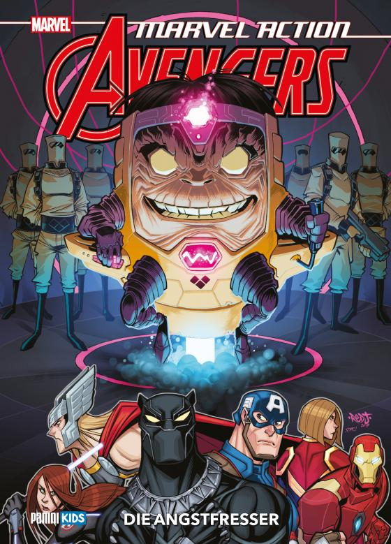 Cover-Bild Marvel Action: Avengers