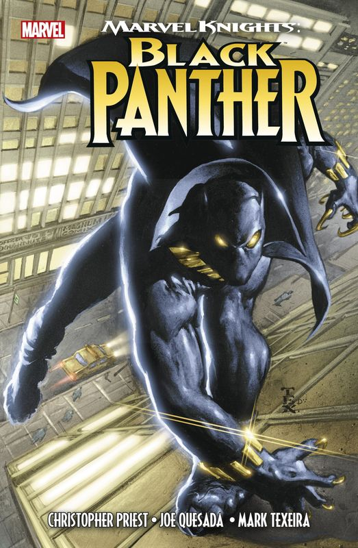 Cover-Bild Marvel Knights: Black Panther