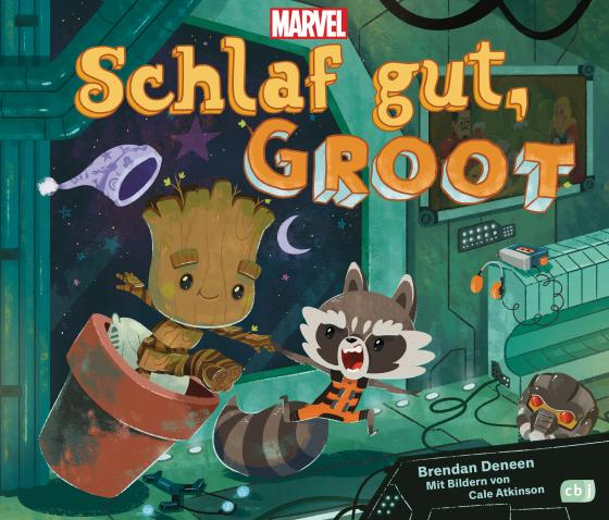 Cover-Bild Marvel Schlaf gut, Groot