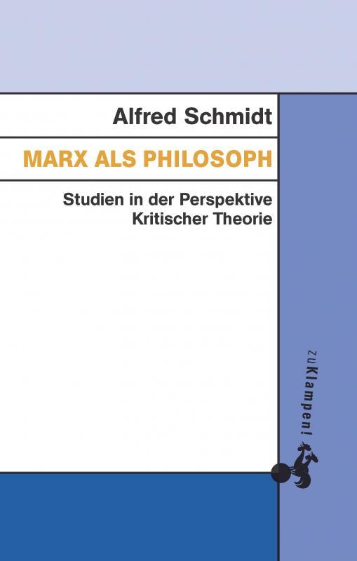 Cover-Bild Marx als Philosoph