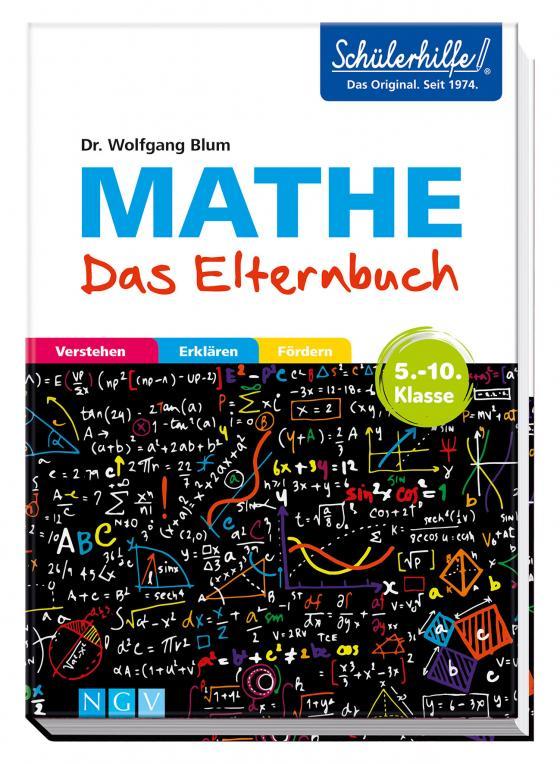 Cover-Bild Mathe - Das Elternbuch - Schülerhilfe