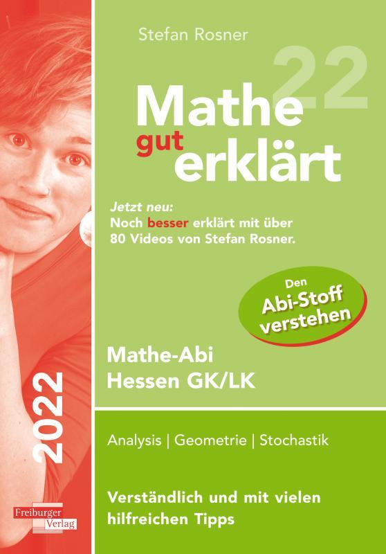 Cover-Bild Mathe gut erklärt 2022 Hessen Grundkurs und Leistungskurs