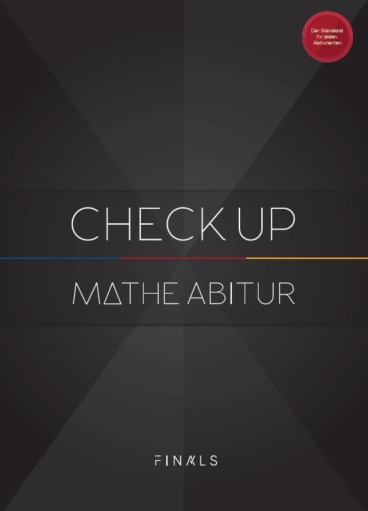 Cover-Bild Mathematik Abiturvorbereitung - CHECK UP - Bayern