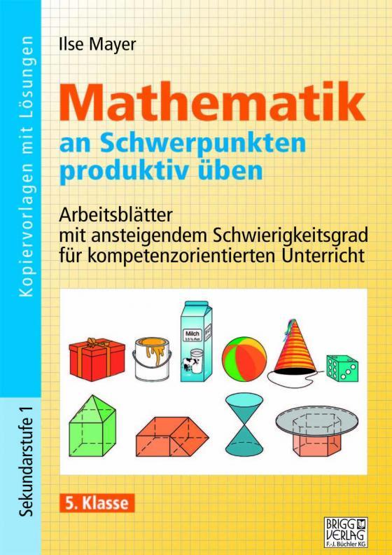 Cover-Bild Mathematik an Schwerpunkten produktiv üben - 5. Klasse