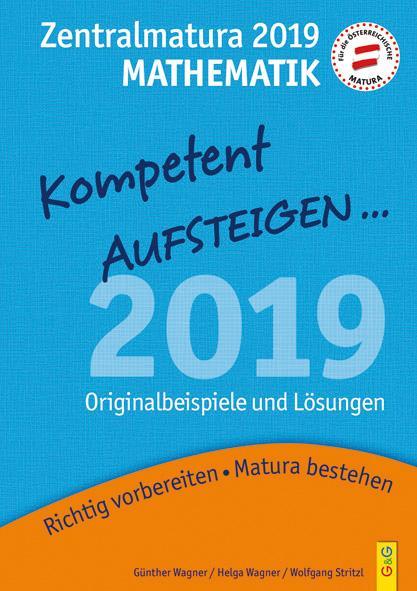 Cover-Bild Mathematik Zentralmatura 2019