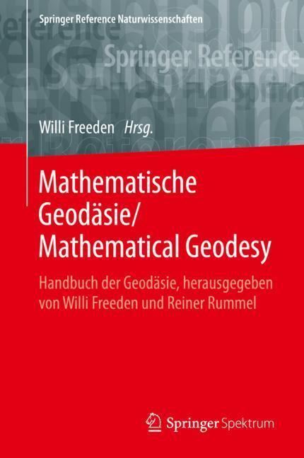 Cover-Bild Mathematische Geodäsie/Mathematical Geodesy