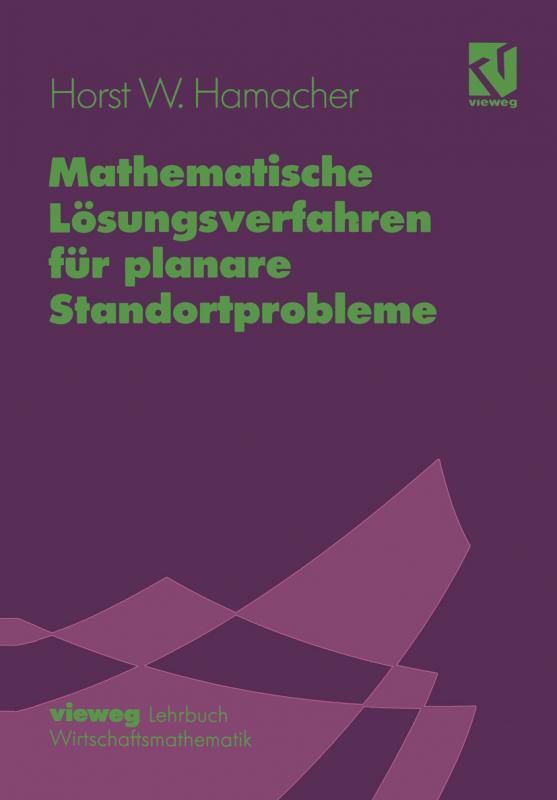 Cover-Bild Mathematische Lösungsverfahren für planare Standortprobleme