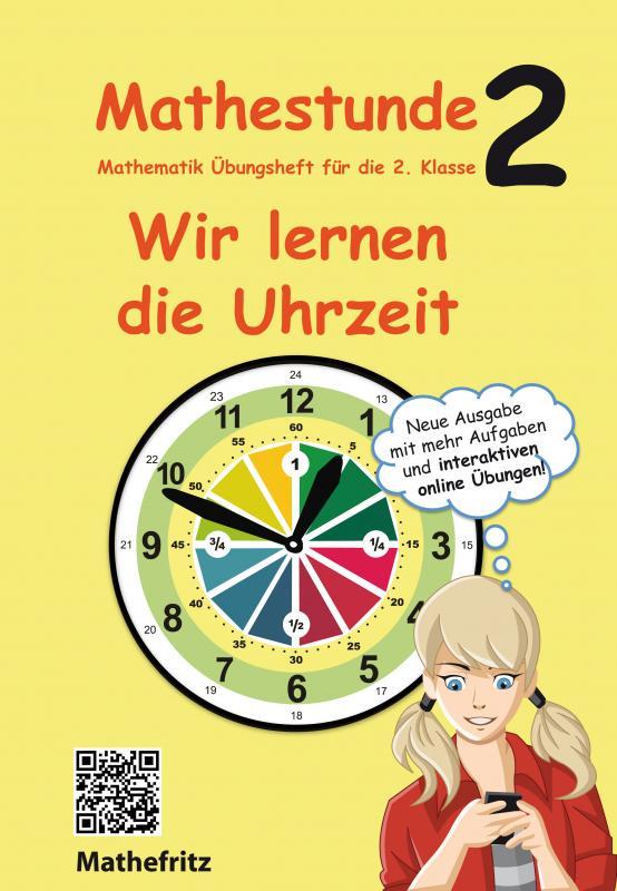 Cover-Bild Mathestunde 2 - Wir lernen die Uhrzeit