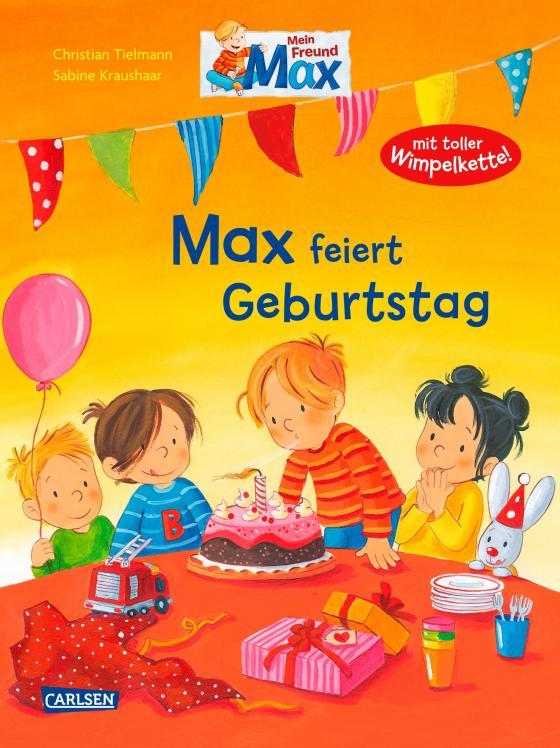Cover-Bild Max-Bilderbücher: Max feiert Geburtstag