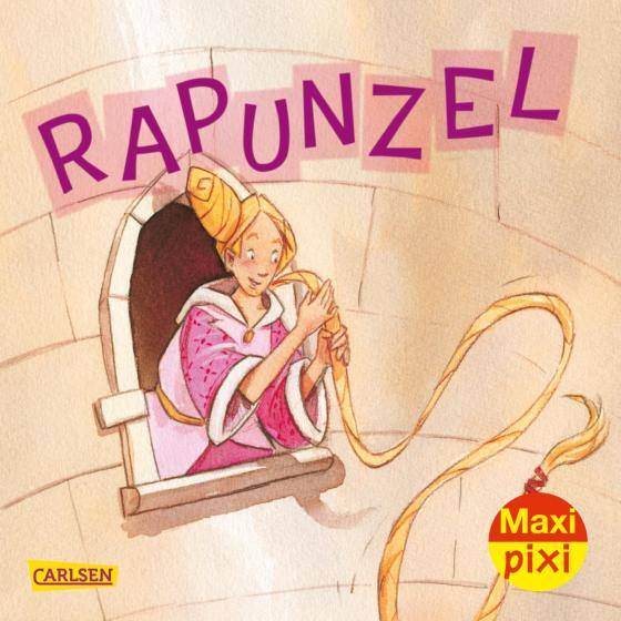 Cover-Bild Maxi Pixi 341: Rapunzel