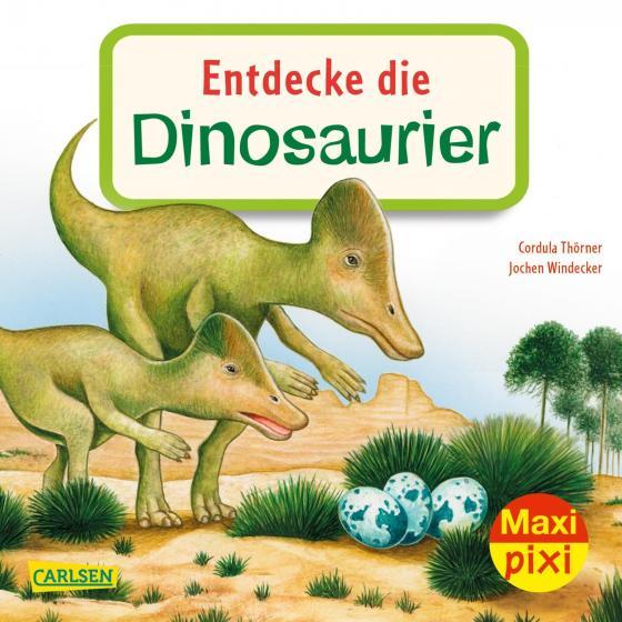 Cover-Bild Maxi Pixi 343: Entdecke die Dinosaurier