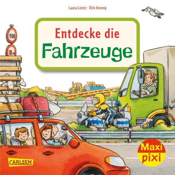 Cover-Bild Maxi Pixi 344: Entdecke die Fahrzeuge