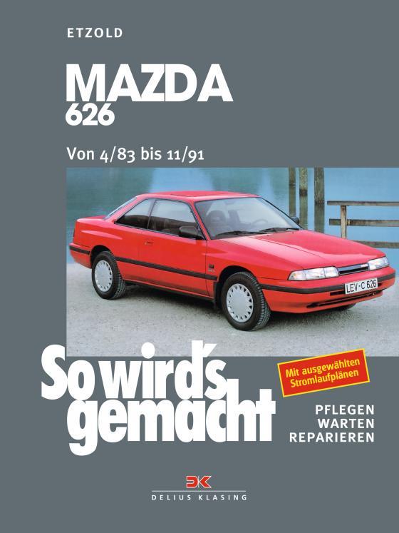Cover-Bild Mazda 626 von 4/83 bis 11/91