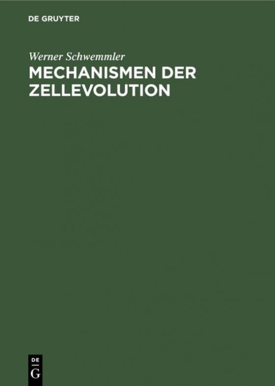 Cover-Bild Mechanismen der Zellevolution