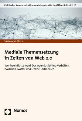 Cover-Bild Mediale Themensetzung in Zeiten von Web 2.0