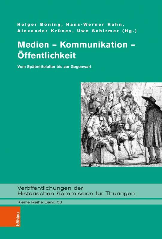 Cover-Bild Medien – Kommunikation – Öffentlichkeit