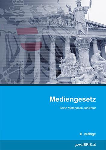 Cover-Bild Mediengesetz