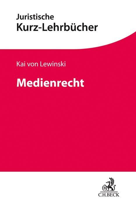 Cover-Bild Medienrecht