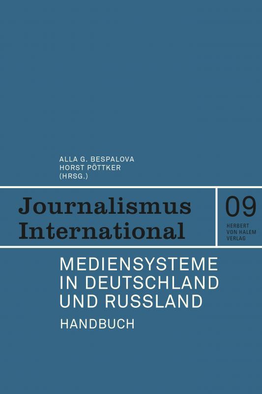 Cover-Bild Mediensysteme in Deutschland und Russland