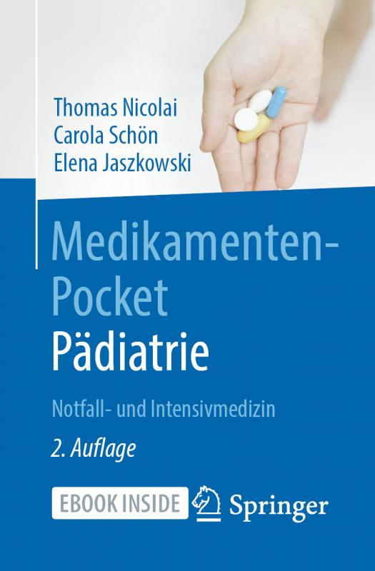 Cover-Bild Medikamenten-Pocket Pädiatrie - Notfall- und Intensivmedizin