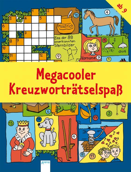 Cover-Bild Megacooler Kreuzworträtselspaß